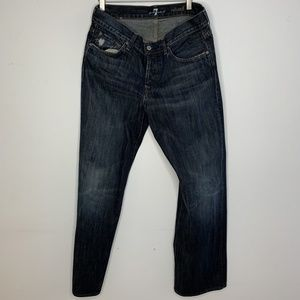 7 for all Mankind Mens Designer Jeans 34/30